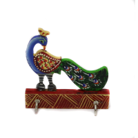Soulful Peacock Key Stand