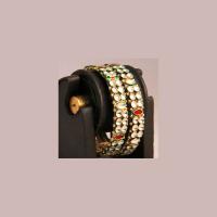 Traditional adorned bangles
