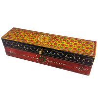 Multicolor Wooden Embossed Box For Return Gifts