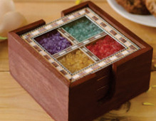 Wooden Gemstone Handicrafts