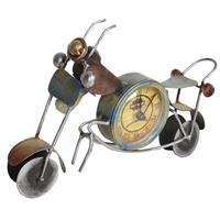 Metal Handmade Clock Mould In A Shape Of Bike