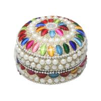 Pearl Decorated Dibbi with Rajasthani design