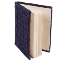 Blue coloured embroidary Diary for Sale