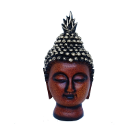 Budhha Face Idol Of Soft Resin