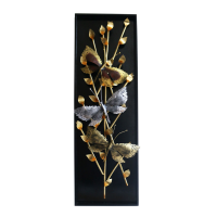 Butterfly On Tree Twig Wall Décor