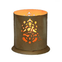 Buy this beautiful ganesh laxmi figure candle hanging