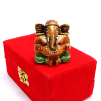 Colourful Lord Ganesh Made Of Wood