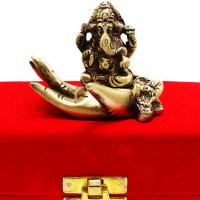 Decorative Brass Made Ganesh Idol