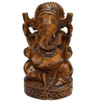 Decorative Lord Ganesha Idol in Wood For Return Gift