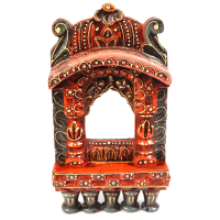Traditional Rajasthani Wooden Jharokha Online As Wall Decor
