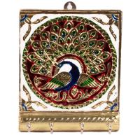 Excellent Wall Key Hanging in Wonderful Meenakari Work