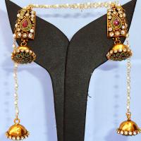 Fashionable jhumki earrings
