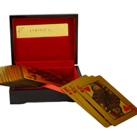 Gold Plated Playing Cards with Purity Certificate Online