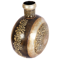 Iron Handicraft Pot Online As Traditional Indian Gifts