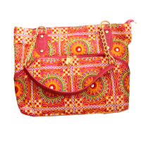 Kanta embroidery hanging bag with bright colours