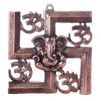 Metal Ganesha for Wall Hanging