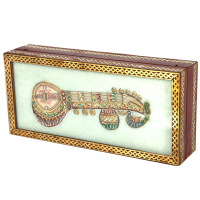Marble Handicrafts Sitar Jewellery Box Best Gift For Women