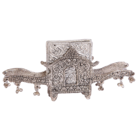 Oxidized Decorated Handmade Doli Shaped Tea Coaster