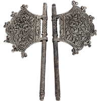 Oxidized Handmade Ethnic Fan Pankhi Set Online For Pooja