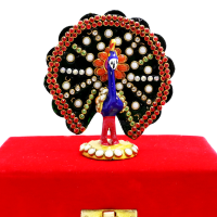 Peacock Decorative Piece Made Of Metal