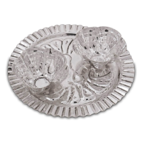 Roli-chawal plate made of german silver with highest quality finish