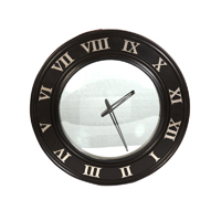 Round Shaped Wooden Wall Clock