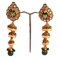 Trendy designer earrings