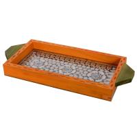 Jewelled orange utility tray