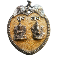 Laxmi-Ganesha Wall Hanging for Shubh Labh