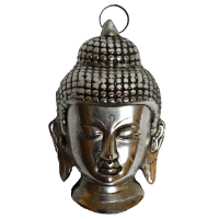 The Metal Buddha Face For Your Perfect Company