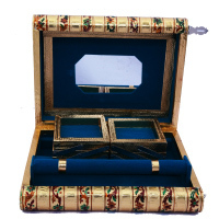 Traditional Meenakari Jewelry Box For Ladies