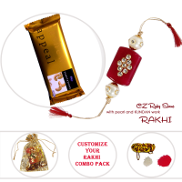 Trendy Rakhi With Gift Hampers For Brother