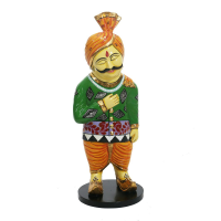 Turban Man Figurine