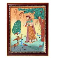 Wooden raagini painting frame